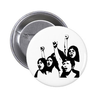 Women Power Pinback Button