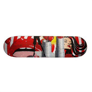 Women Power Skateboard