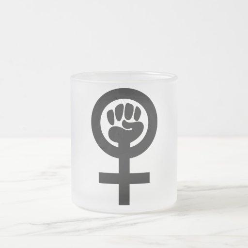 Women Power Symbol Coffee Mugs