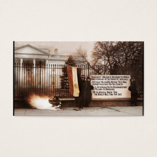 Women Protest at White House Business Card