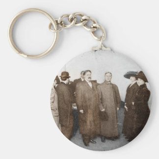 Women Registering to Vote Keychain