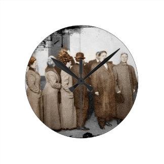 Women Registering to Vote Round Clock