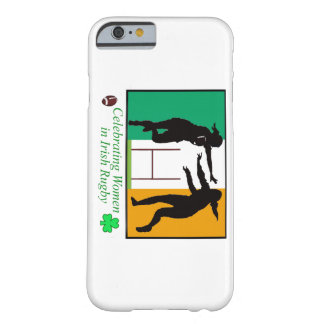 Women Rugby image for iPhone 6 Barely There iPhone 6 Case