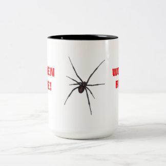 WOMEN RULE! Two-Tone COFFEE MUG