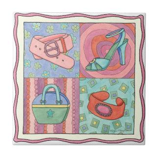Women's Accessories by Chariklia Zarris Ceramic Tile