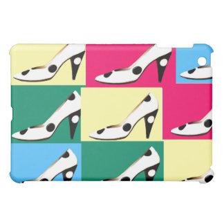 Women s High Heel Shoes Checkerboard iPad Mini Case