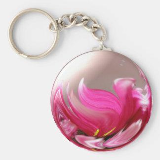 Women's History Month Basic Round Button Keychain