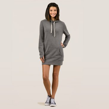 Beach Themed Women's Hoodie Dress