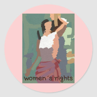 Women´s rights stickers