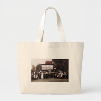 Women s Suffrage Group with Banner Canvas Bags