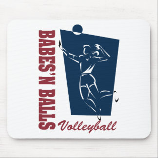Women s Volleyball Mouse Pads