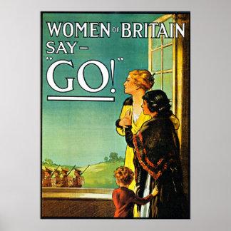 Women Say Go! - Poster