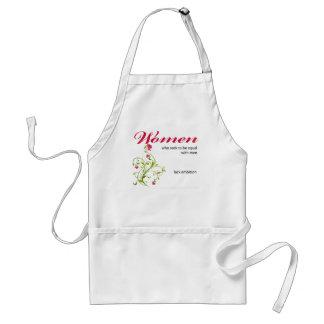 women seeking to be equal adult apron