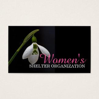 Women Shelter Organization Home Service Card