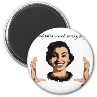 women smile fridge magnets