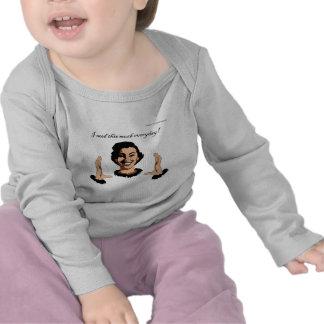 women smile tee shirt