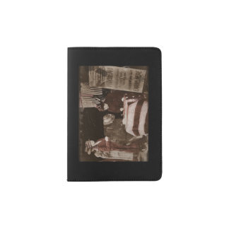 Women Suffragettes Enroll as War Supporters Passport Holder