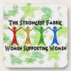 Women Supporting Women Beverage Coaster