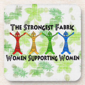 Women Supporting Women Beverage Coasters