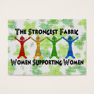Women Supporting Women Business Card