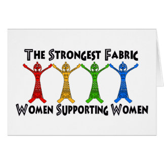 Women Supporting Women Card