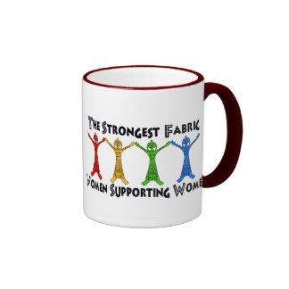 Women Supporting Women Ringer Coffee Mug