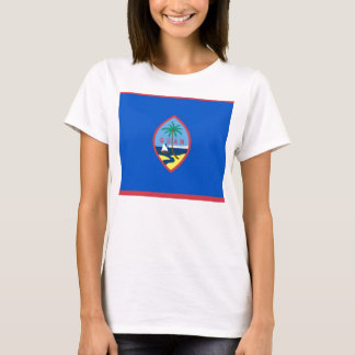 Women T Shirt with Flag of Guam