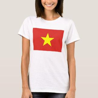 Women T Shirt with Flag of Vietnam