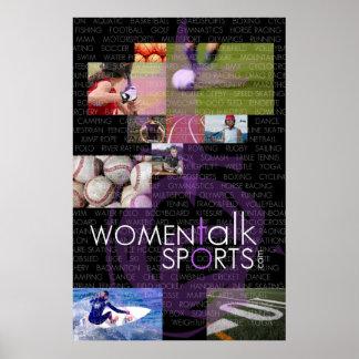 Women Talk Sports Poster