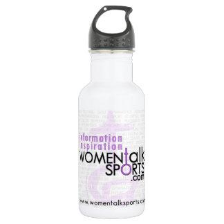 Women Talk Sports Water Bottle