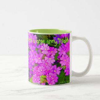 Women Telling the Good News ... Psalm 68:11 Two-Tone Coffee Mug