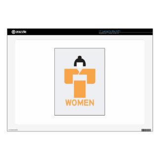 Women toilet, Japanese Sign Skins For Laptops