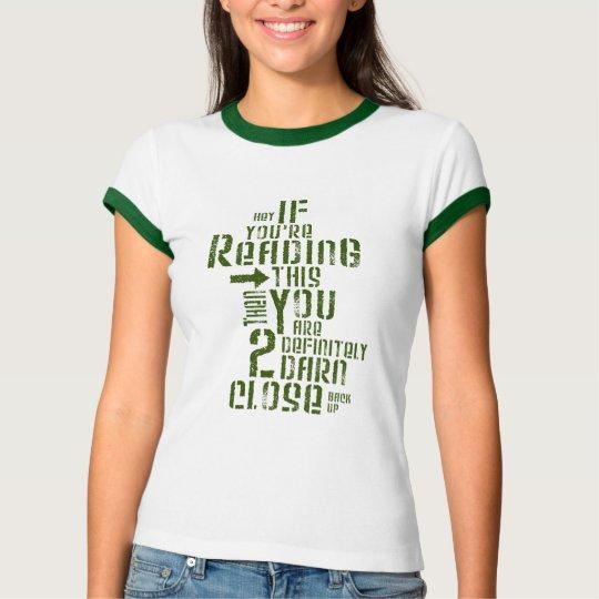 WOMEN - Too Close T-Shirt