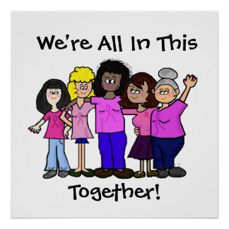 Women United Against Breast Cancer Poster