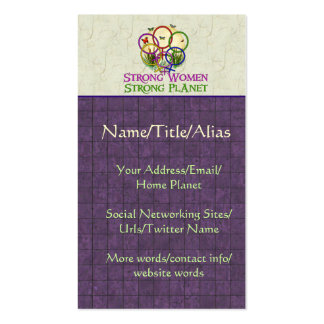 Women United Double-Sided Standard Business Cards (Pack Of 100)