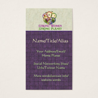 Women United Business Card