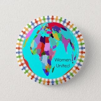 Women United Design 2 Pinback Button