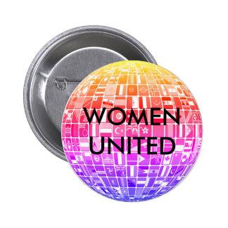 WOMEN UNITED Design 5 Button