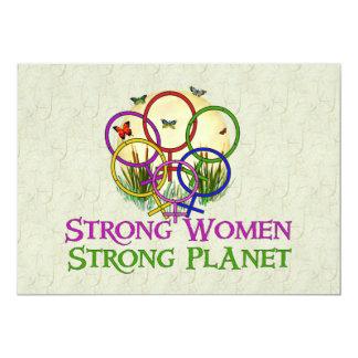 Women United 5x7 Paper Invitation Card