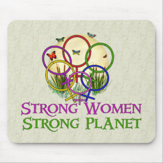 Women United Mouse Pad