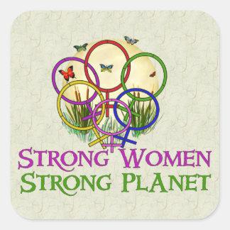 Women United Square Sticker