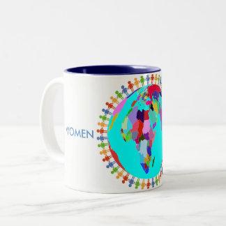 Women United Two-Tone Coffee Mug