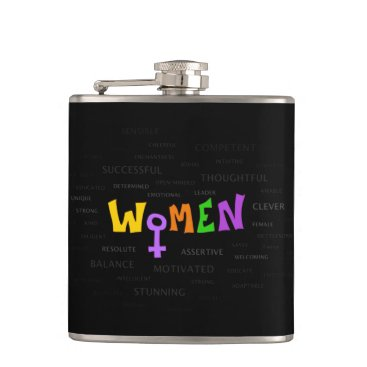 Women Up Flask