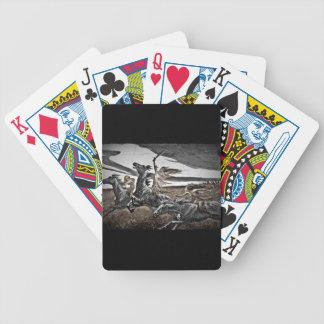 Women Viking Warriors Bicycle Playing Cards