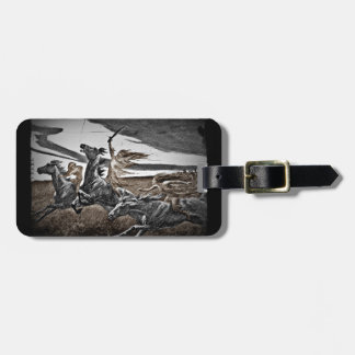 Women Viking Warriors Tag For Luggage