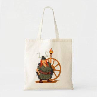 Women Vikings Rule Tote Bag
