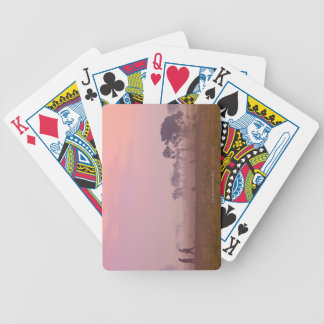 Women Villagers Bicycle Playing Cards