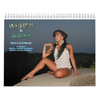 Women & Water Kidney Charity Calendar