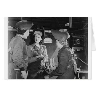 Women Welders Card