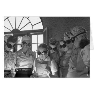 Women Welders in WWII 1940s Cards